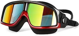 Nicstyle Swimming Goggles - No Leaking Swim Goggles Anti Fog UV Protection Triathlon Swim Glasses for Adult Men Women Youth