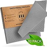 Superscandi - Paños de limpieza reutilizables, de celulosa, biodegradables, para cocina, reemplaza el papel de cocina
