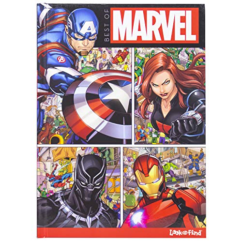 Best of Marvel Look and Find - Spid…