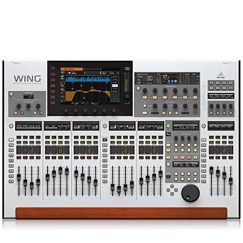 Mesa de Som Digital Behringer Wing Mixer com 48 Canais 24 Faders Touchscreen