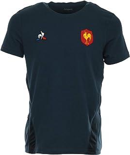 55f1e3f934862 Le Coq Sportif Tee Shirt Rugby XV de France, Entrainement 2018/2019 Adulte