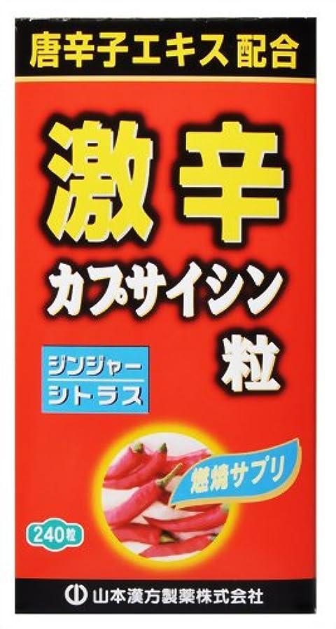 ビタミン適度にクレーン激辛カプサイシン粒 240粒