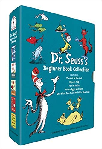 [0375851569] [9780375851568] Dr. Seuss's Beginner Book Collection (Cat in the Hat, One Fish Two Fish, Green Eggs and Ham, Hop on Pop, Fox in Socks)-Hardcover