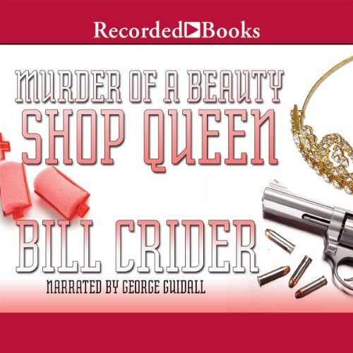 Murder of a Beauty Shop Queen audiobook cover art