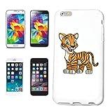 Helene - Carcasa para Samsung Galaxy S4 i9500, diseño de tigre y león