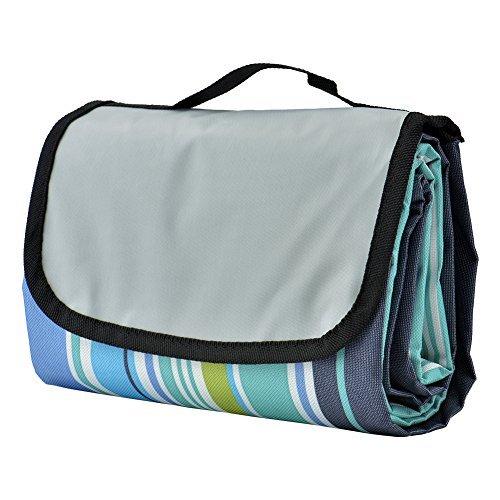 TechSmile Picknickdecken, wasserdichte Tragbare und Faltbare Stranddecke, Ideal für Strand, Wildnis, Wiese, usw(150 x 200 cm)