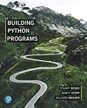 Building Python Programs, Student Value Edition