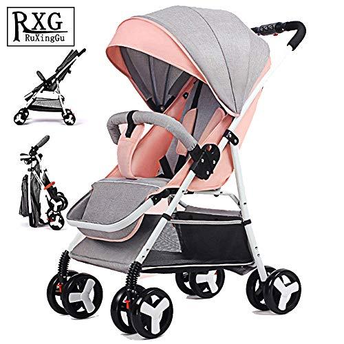 Folding Stroller, Lightweight Stroller,Compact Travel Buggy,One Hand...