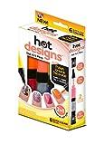 Hot Designs Nail Art Pens, Glitz/Glam