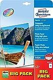 AVERY Zweckform 2572-50 Superior Inkjet Fotopapier (A4, einseitig beschichtet, hochglänzend, 200 g/m²) 50 Blatt