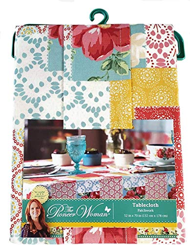 The Pioneer Woman Patchwork Tablecloth, 52 x 70