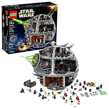 LEGO Star Wars Death Star 75159 Space Station Building Kit with Star Wars Minifigures for Kids and Adults  4016 Pieces