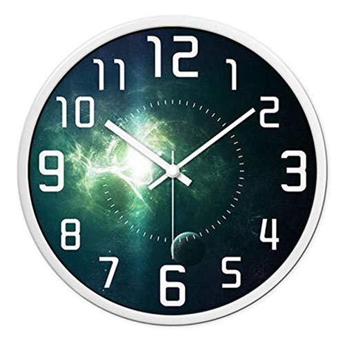 rrff Relojes De Pared Un Reloj De Pared Decorativo Antiguo Reloj De Pared Mudo Grande Arte Digital Clásico Decoración del Hogar Herramientas De Decoración
