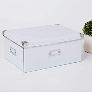 AQGELSNX Boîte de Rangement de Maison de Style européen boîte de Rangement de Finition Pliable Disponible décoration @ lum...