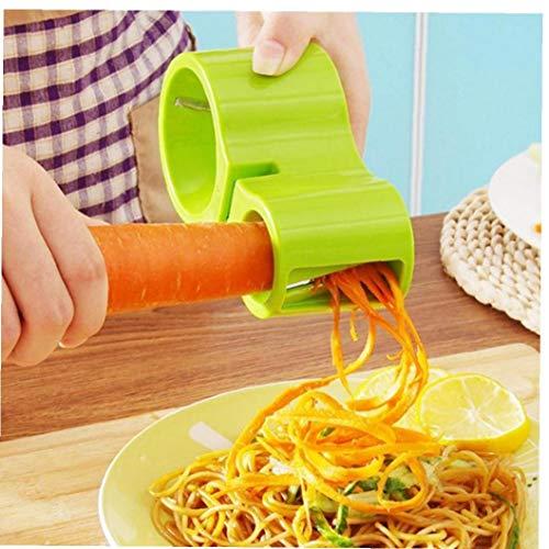 BYFRI Gemüse Spiralizer Spiral Slicer Zucchini Nudel Spaghetti-spiralen-Maschine Cutter Peeler Gemüse Julienne Cutter Peeler