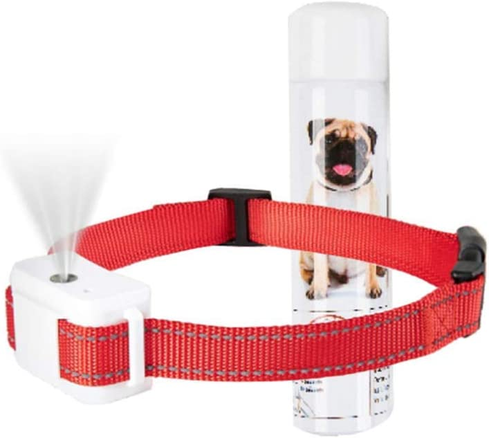 up to 500 Spray Spray No Shock Collar Waterproof Rechargeable Dog Bark Barking Device Adjustable Belt for Large Medium Small Dog 15~120lb CHOSMO Anti-bark Dog Training Collar
