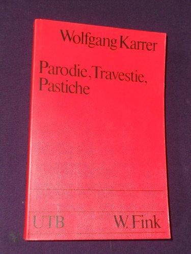 Parodie, Travestie, Pastiche. Information und Synthese, Band 6