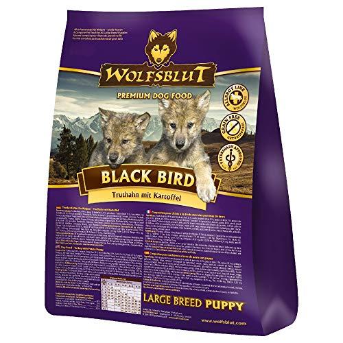 Wolfsblut | Black Bird Puppy Large | 15 kg | Truthahn | Trockenfutter | Hundefutter | Getreidefrei
