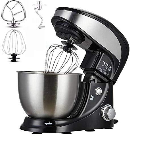 Stand Mixer, 500W Deeg Blender Keukenmachine met 3 snelheden, Veiligheid bescherming tegen oververhitting ventiel, 4L RVS mengkom Poreuze warmteafvoer ontwerp