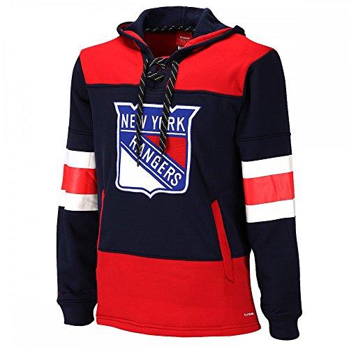 Reebok CCM NHL NEW YORK RANGERS Faceoff Jersey Pullover, Größe:L