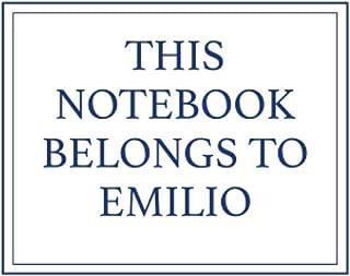 This Notebook Belongs to Emilio