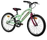 Anakon Hawk One, Bicicletta Bambina, Verde, 7-9 Anni