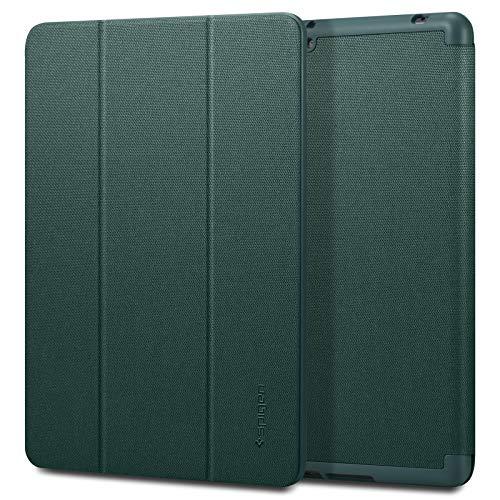 Spigen Urban Fit Diseñado para iPad 10.2, iPad 8ª Generación Funda (2020) / iPad 7ª Generación Funda (2019) - Midnight Green