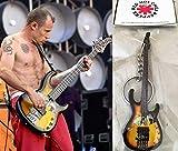 キーホルダー ベースギター Modulus Flea Bass Red Hot Chili Peppers