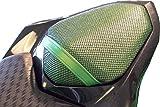 Cubierta TRIBOSEAT para Asiento Antideslizante Accesorio Personalizado Negro Compatible con Kawasaki Z800 (2013-2018)