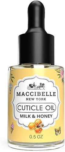 Maccibelle Cuticle Oil Milk and Honey 0.5 oz - Heals Dry Cracked Cuticles