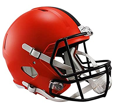 Riddell NFL Cleveland Browns Full Size Speed Replica Football Helmet