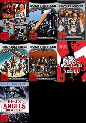 14 Filme Rocker & Biker Mega Collection HELLS ANGELS - DIE ENGEL DES TODES on Wheels DVD Limited Edition