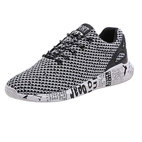 Kaister Herren Breathable Mesh Casual wilde Sportschuhe gewebt Freizeitschuhe Sneaker Slip on Turnschuhe Outdoor shoes