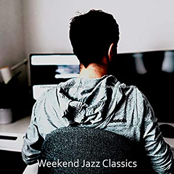 Clarinet and Vibraphone Swing Jazz (Music for Relaxing Mornings)
