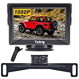 Yakry Y12 HD Backup Camera System 4.3 Inch Monitor for Car,Truck,SUV,Camper Easy Installation System Color Image with IP69K Waterproof