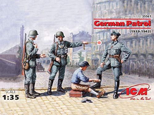 ICM 1/35 ドイツ パトロール (歩兵&靴磨少年 1939年-1942年) プラモデル 35561