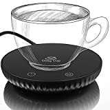 Cosy Cup Coffee Tea Mug Warmer, Heater for Teapot, Electric Digital Display, 2 Temperature Settings, Constant Heat, Automatic Power off Safety, Home and Office, UK Company