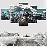 shuyinju Himalaya Landschaft 5 Stück HD Tapeten Kunst