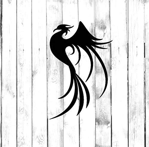 Phoenix Bird - Adhesivo tribal/tatuaje para coche, camión, hogar, ordenador portátil, teléfono