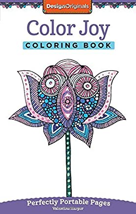 Color Joy Coloring Book: On-The-Go! by Valentina Harper (2015-09-01)
