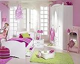 Rauch Kinderzimmer Jugendzimmer Lilly 4-tlg. Komplett Set in weiss