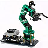 Yahboom Robotic Arm for Raspberry Pi 4B AI Smart Robotic Arm with Camera 6-DOF ROS Open Source for Adults (DOFBOT Without Raspberry Pi 4B)