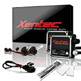 Xentec H11 (H8/H9) 6000K HID xenon bulb x 1 pair bundle with 2 x 35W Digital Ballast (Ultra White)