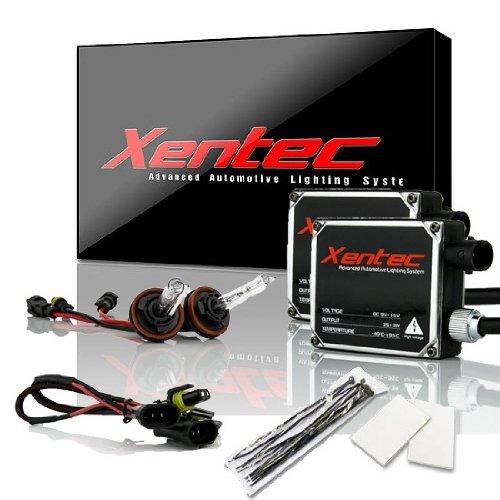 Xentec H11 (H8/H9) 6000K HID xenon bulb x 1 pair bundle with 2 x 35W Digital Ballast (Ultra White)