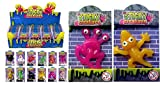 24 X Sticky Creatures Throwing Toys - Party Bag Filler