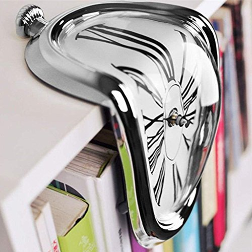 S&H Creative distorsionado Dali Reloj Reloj de Pared Reloj derretido Retro Home...