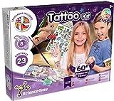 Science4You - Fabbrica di Tatuaggi Temporanei per Bambini 8 Anni - Kit di Artigianato ed Esperimenti per Bambini: Fai 8 attività e +60 Tatuaggi per Bambini, Regalo per Ragazze 8 Anni