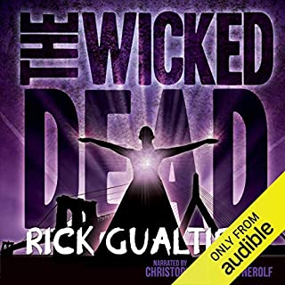 The Wicked Dead audiobook cover art