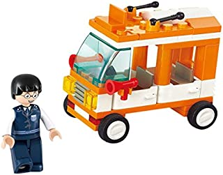 "Sluban M38-B0179 Mini Bus ""Town"" Building Kit (72 Pieces)"