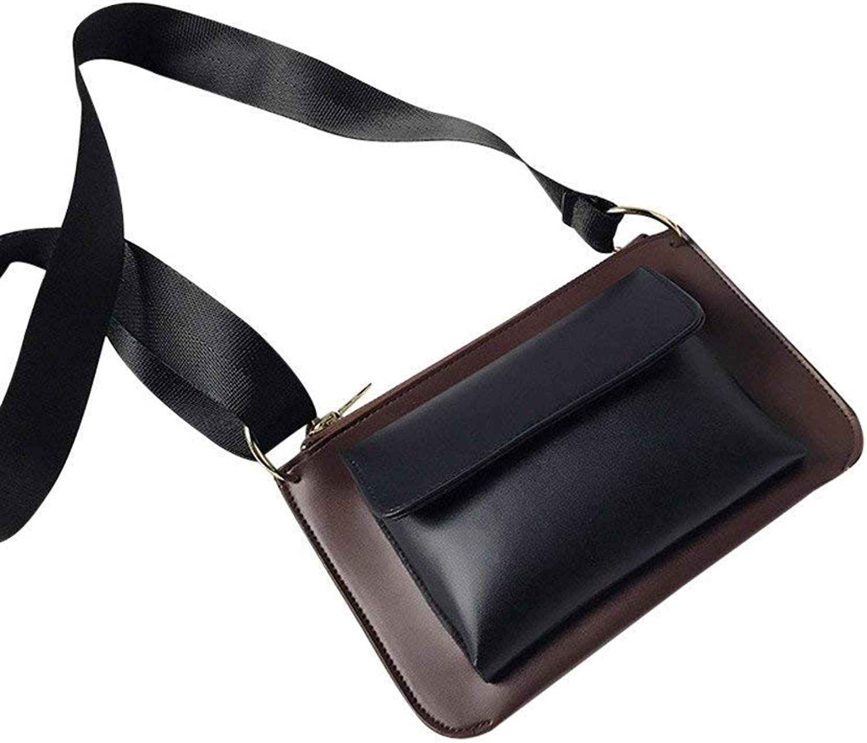 Bloomerang Fashion Women 2018 Hit color Handbag Bag Crossbody Bags Messenger Shoulder Bag Mini Crossbody bolsos women de Marca famosa 75 color Black Size